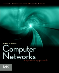 Computer Networks, 5th Edition,Larry Peterson,Bruce Davie,ISBN9780123850591