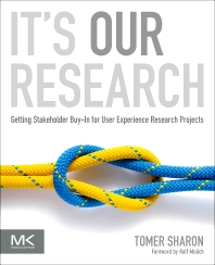 It's Our Research, 1st Edition,Tomer Sharon,ISBN9780123851307