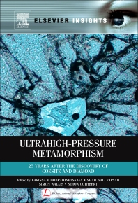 Cover image for Ultrahigh-Pressure Metamorphism