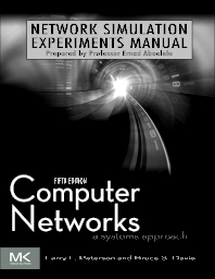 Cover image for Network Simulation Experiments Manual