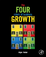 cover of The Four Colors of Business Growth - 1st Edition