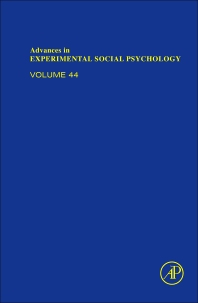 Advances in Experimental Social Psychology, 1st Edition,Mark Zanna,James Olson,ISBN9780123855220