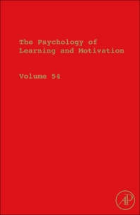 The Psychology of Learning and Motivation, 1st Edition,Brian Ross,ISBN9780123855275
