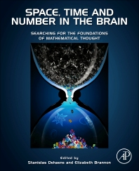 Cover image for Space, Time and Number in the Brain