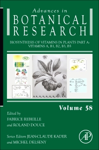 Cover image for Biosynthesis of Vitamins in Plants Part A