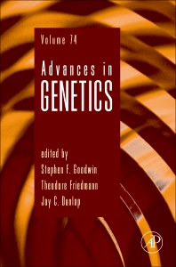 Advances in Genetics, 1st Edition,Theodore Friedmann,Jay Dunlap,Stephen F. Goodwin,ISBN9780123864819