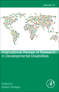Cover image for International Review of Research in Developmental Disabilities