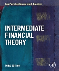 Intermediate Financial Theory, 3rd Edition,Jean-Pierre Danthine,John Donaldson,ISBN9780123865496