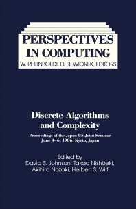 Discrete Algorithms and Complexity - 1st Edition - ISBN: 9780123868701, 9781483274003