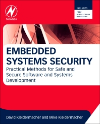 Embedded Systems Security, 1st Edition,David Kleidermacher,Mike Kleidermacher,ISBN9780123868862