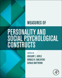 Cover image for Measures of Personality and Social Psychological Constructs