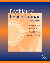 Cover image for Psychiatric Rehabilitation