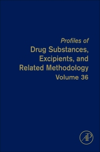 Profiles of Drug Substances, Excipients and Related Methodology, 1st Edition,Harry Brittain,ISBN9780123876676
