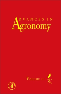 Advances in Agronomy, 1st Edition,Donald L Sparks,ISBN9780123876898