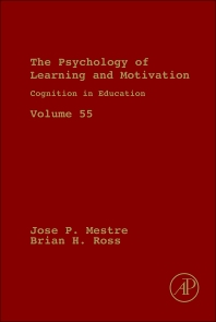 Cognition in Education, 1st Edition,Jose Mestre,Brian Ross,ISBN9780123876911