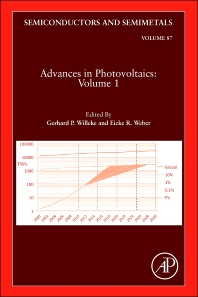 Advances in Photovoltaics:Part 1, 1st Edition,Gerhard Willeke,Eicke Weber,ISBN9780123884190
