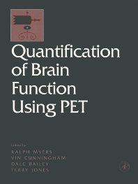 Cover image for Quantification of Brain Function Using PET