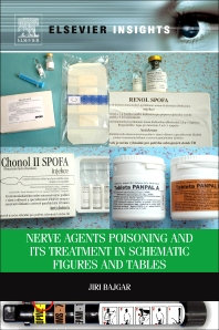 Nerve Agents Poisoning and its Treatment in Schematic Figures and Tables, 1st Edition,Jiri Bajgar,ISBN9780123914828