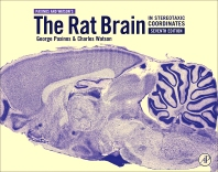 cover of The Rat Brain in Stereotaxic Coordinates - 7th Edition