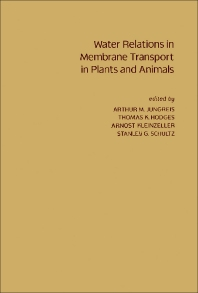Water Relations in Membrane Transport in Plants and Animals - 1st Edition - ISBN: 9780123920508, 9781483273877