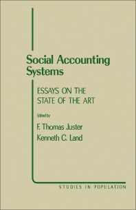 Social Accounting Systems - 1st Edition - ISBN: 9780123925503, 9781483274119