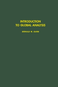 Cover image for Introduction to Global Analysis