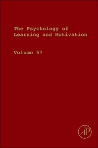 The Psychology of Learning and Motivation, 1st Edition,Brian Ross,ISBN9780123942937