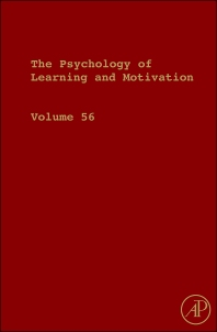 The Psychology of Learning and Motivation, 1st Edition,Brian Ross,ISBN9780123943934