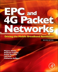 Cover image for EPC and 4G Packet Networks