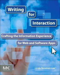 Writing for Interaction, 1st Edition,Linda Newman Lior,ISBN9780123948137