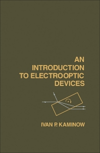 Cover image for An Introduction to Electrooptic Devices