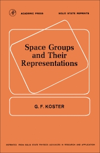 Cover image for Space Groups and Their Representations