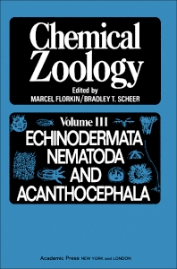 Cover image for Chemical Zoology V3