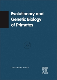 Cover image for Evolutionary and Genetic Biology of Primates V2