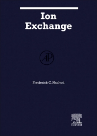 Ion Exchange  - 1st Edition - ISBN: 9780123956132, 9780323151009