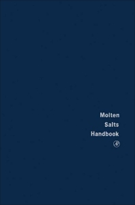 Cover image for Molten Salts Handbook