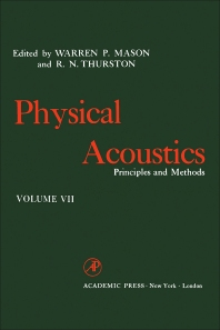 Physical Acoustics V7 - 1st Edition - ISBN: 9780123956675, 9780323152075