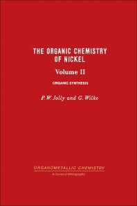 The Organic Chemistry of Nickel - 1st Edition - ISBN: 9780123957191, 9780323151306