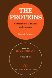 The Proteins Composition, Structure, and Function V4 - 2nd Edition - ISBN: 9780123957269, 9780323161619