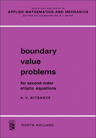 Cover image for Boundary Value Problems For Second Order Elliptic Equations