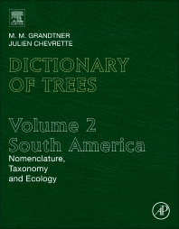 Cover image for Dictionary of Trees, Volume 2: South America
