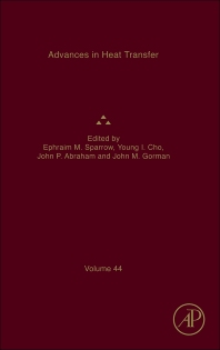 Advances in Heat Transfer, 1st Edition,Ephraim M. Sparrow,Young Cho,John Abraham,John Gorman,ISBN9780123965295