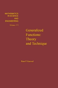 Cover image for Generalized Functions: Theory and Technique