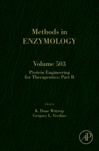 Protein Engineering for Therapeutics, Part B, 1st Edition,K. Dane Wittrup,Gregory L. Verdine,ISBN9780123969620