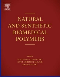 Cover image for Natural and Synthetic Biomedical Polymers