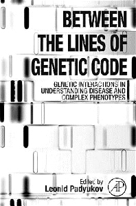 Cover image for Between the Lines of Genetic Code