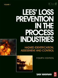cover of Lees' Loss Prevention in the Process Industries - 4th Edition