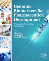 Genomic Biomarkers for Pharmaceutical Development - 1st Edition - ISBN: 9780123973368, 9780123977946
