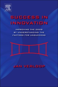 Success in Innovation, 1st Edition,Jan Verloop,ISBN9780123978899