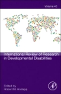 International Review of Research in Developmental Disabilities, 1st Edition,Robert Hodapp,ISBN9780123982612